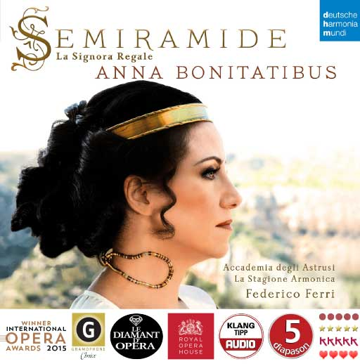 Semiramide – La Signora Regale: Cover + Awards
